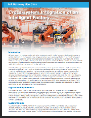 Advantech IoT: Cross-system Integration of an Intelligent Factory