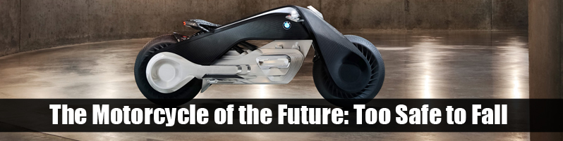 the new bmw self driving motorcycle - eagle leather - lakewood