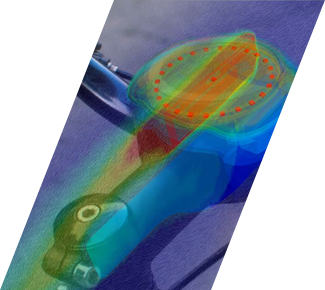 CFD and Electronics for the SmartHalo