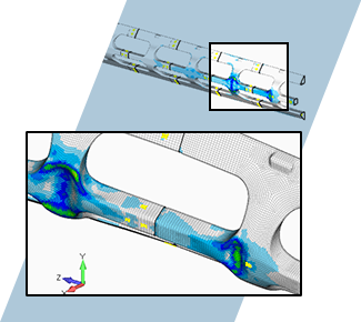 Fluid and structural analysis of a side road warning gate