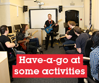 Have a go activities