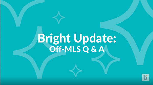 Off-MLS Q&A