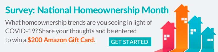 Survey: National Homeownership Month
