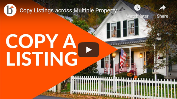 Copy a listing now available across additional property types