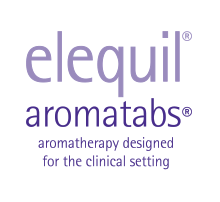 Elequil aromatabs aromatherapy designed for the clinical setting