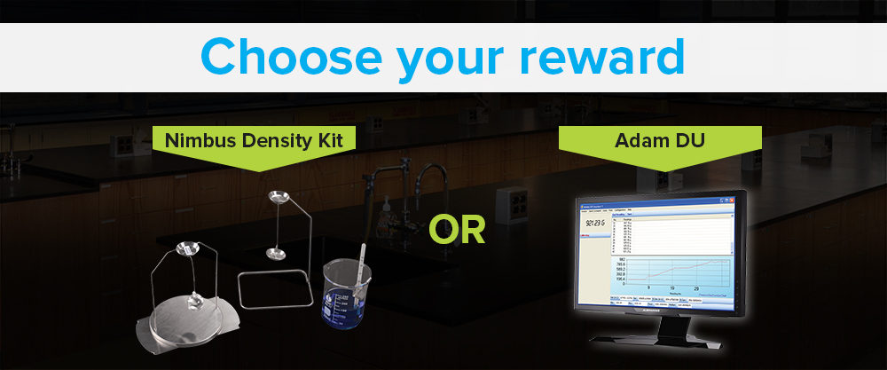 Choose your rewards: Nimbus Density Kit or Adam DU