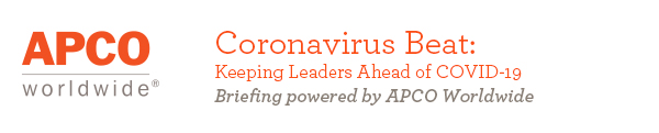 Coronavirus Beat from APCO Worldwide